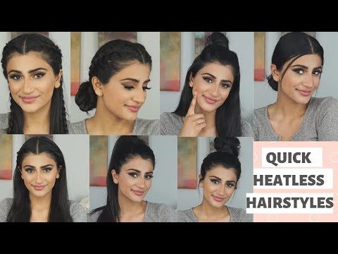 GO TO 5 MINUTE HEATLESS HAIRSTYLES FOR SCHOOL/WORK