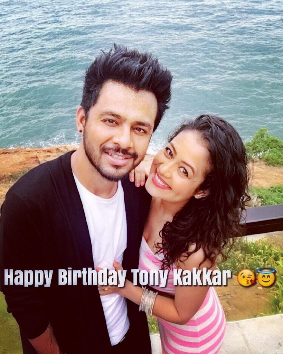 Neha Kakkar On Instagram Happy Birthday Tonykakkar I Love You Tonykakkar Nehakakkar Neha Kakkar Singer Bollywood Actors
