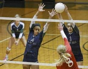 Flint Hill Cruises To Another State Title Huskies Claim Fifth State Volleyball Championship In Last Six Years The Flint Flint Hill Volleyball Team Undefeated