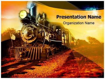 Steam Engine Powerpoint Template Is One Of The Best Powerpoint