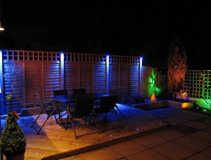 Outdoor Patio Lighting Led With Colorjpg Landscape Lighting Design Backyard Lighting Garden Lighting Design
