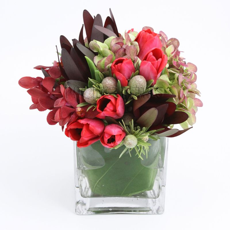 Watermarked Corp8 Online Flower Shop Rectangle Vase Flowers Today