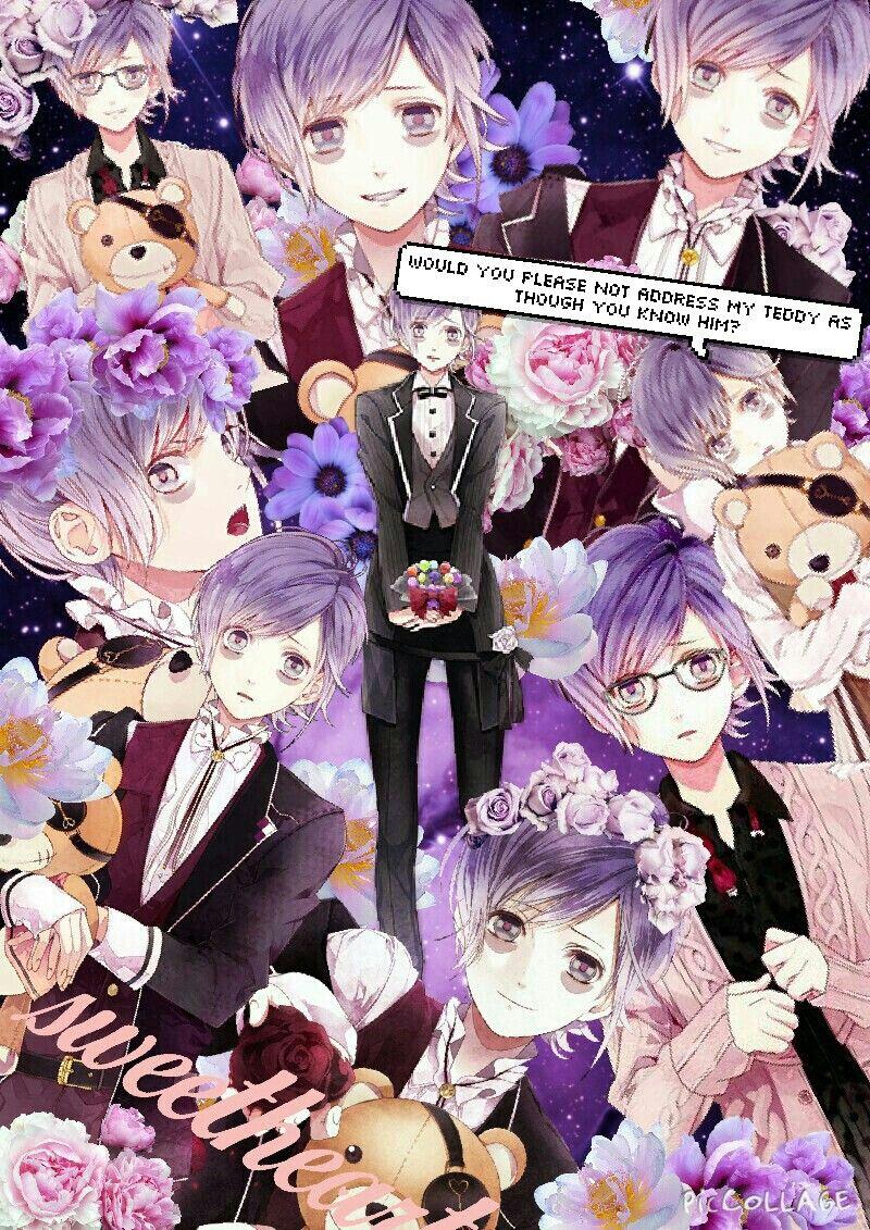 Kanato Sakamaki Anime Collage Diabolik Lovers Diabolik
