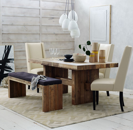 Dining Table West Elm Emerson Reclaimed Wood Dining Table