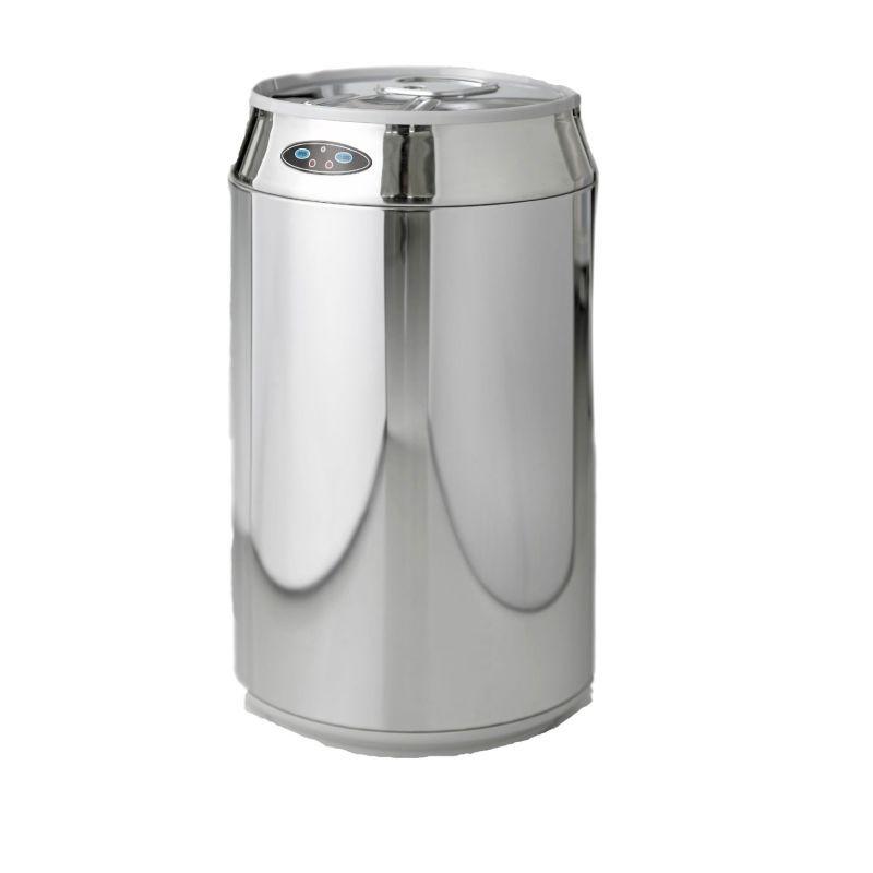 Moderne Mülleimer moderne linien no touch abfalleimer dosenform auf lager