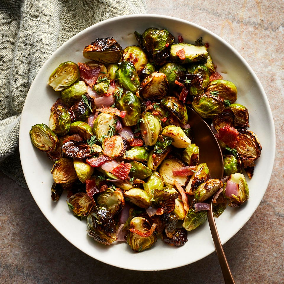 Air-Fryer Brussels Sprouts