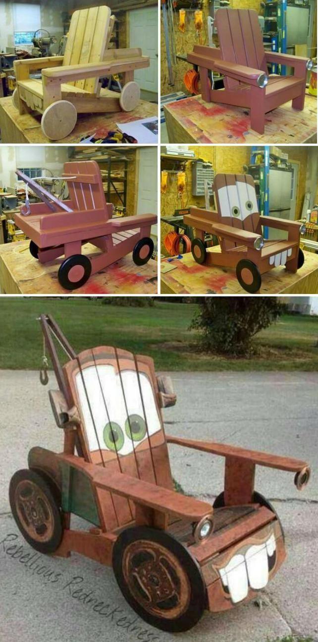 coche de juguete hecho con palets   Hojas   Pinterest   Cochecito de ...