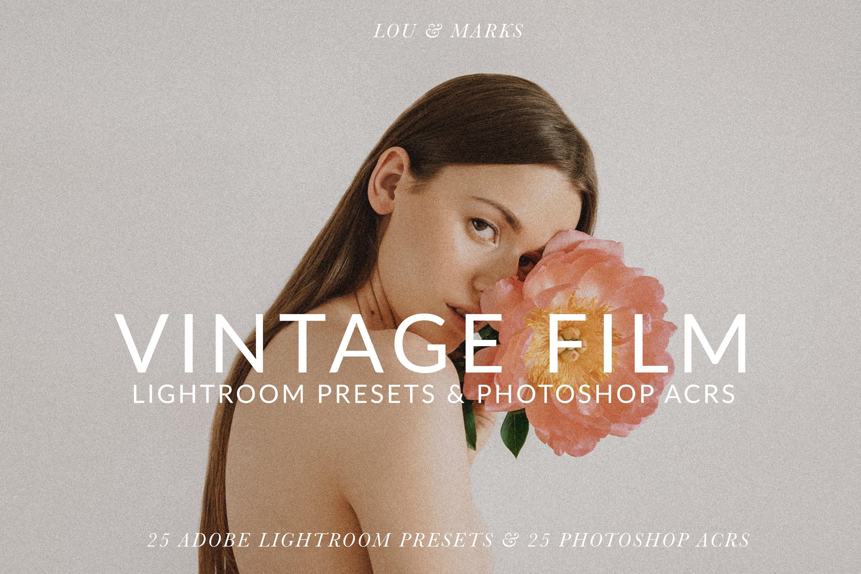 Vintage Film Tones Pack Lr Ps By Lou Marks On Creativemarket Lightroom Presets Lightroompresets Vintage Fil Film Presets Lightroom Vintage Film Photoshop