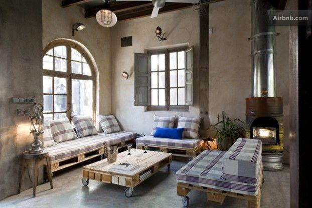 Industrial Chic Apartment Mit Einladendem Appeal