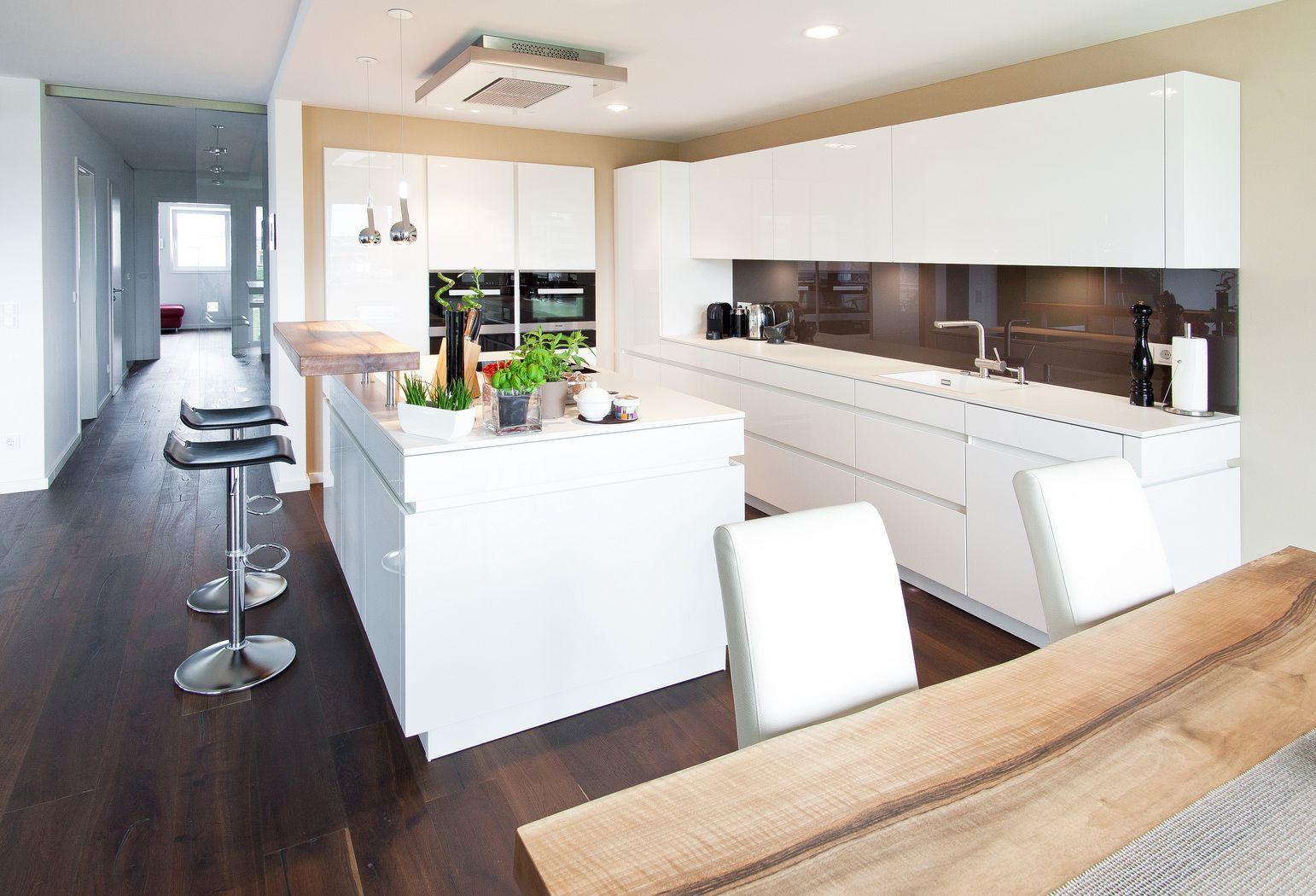 Bildergebnis für küche mit kochinsel | Wohnzimmer, Küche | Pinterest ...