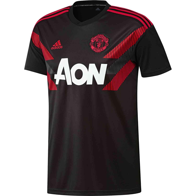 8940162d adidas Manchester United Home Pre Match Jersey 2018-19 | Manchester ...