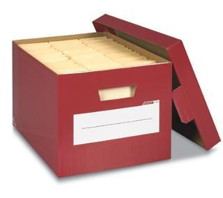 Decorative File Storage Boxes With Lids Bankers Box Storfile Decorative Solid Storage Boxes Persimmon