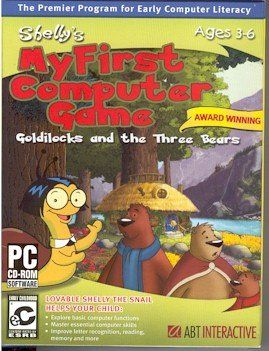 Shelly's My First Computer Game, Goldilocks and the Three Bears - http://www.bigstufblog.com/shellys-my-first-computer-game-goldilocks-and-the-three-bears/