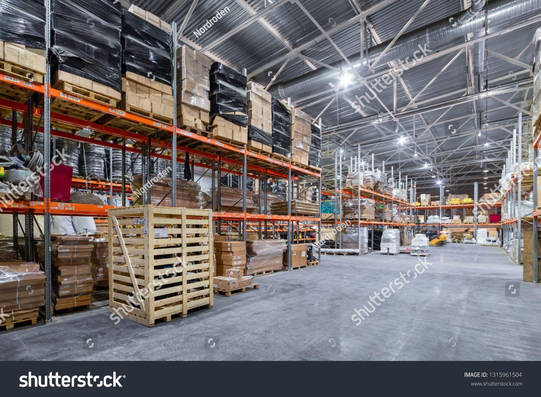 Large Hangar Warehouse Industrial And Logistics Companies