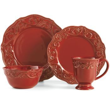 Chris Madden® 16-pc. Corvella Dinnerware Set | beautiful dishes ...