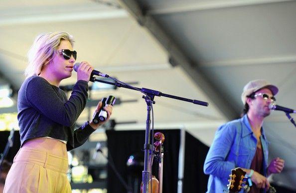 2012 Coachella Music Festival - Charity Rose.