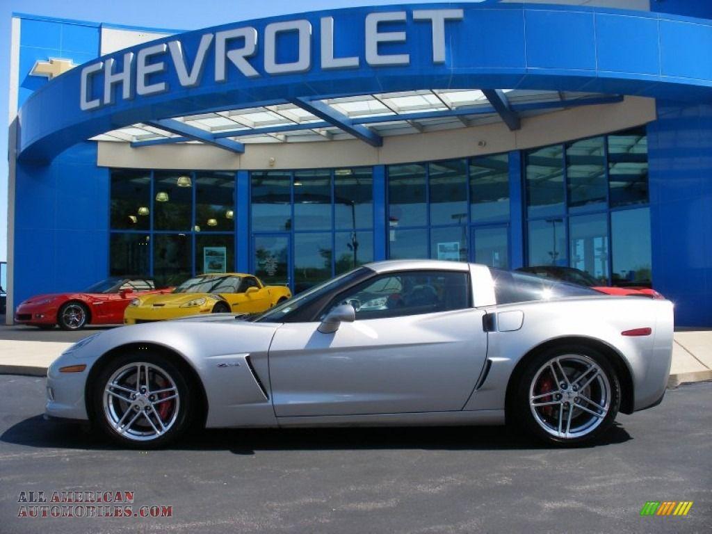 2007 Chevrolet Corvette Z06 In Machine Silver Metallic 106109 All American Automobiles Buy America Corvette Z06 Chevrolet Corvette Z06 Chevrolet Corvette