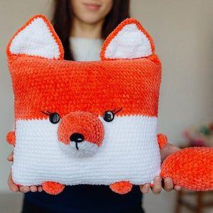 Crochet deer pattern, Amigurumi deer, crochet christmas deer, Crochet pillow deerdeer, christmas amigurumi gift, crochet christmas pattern