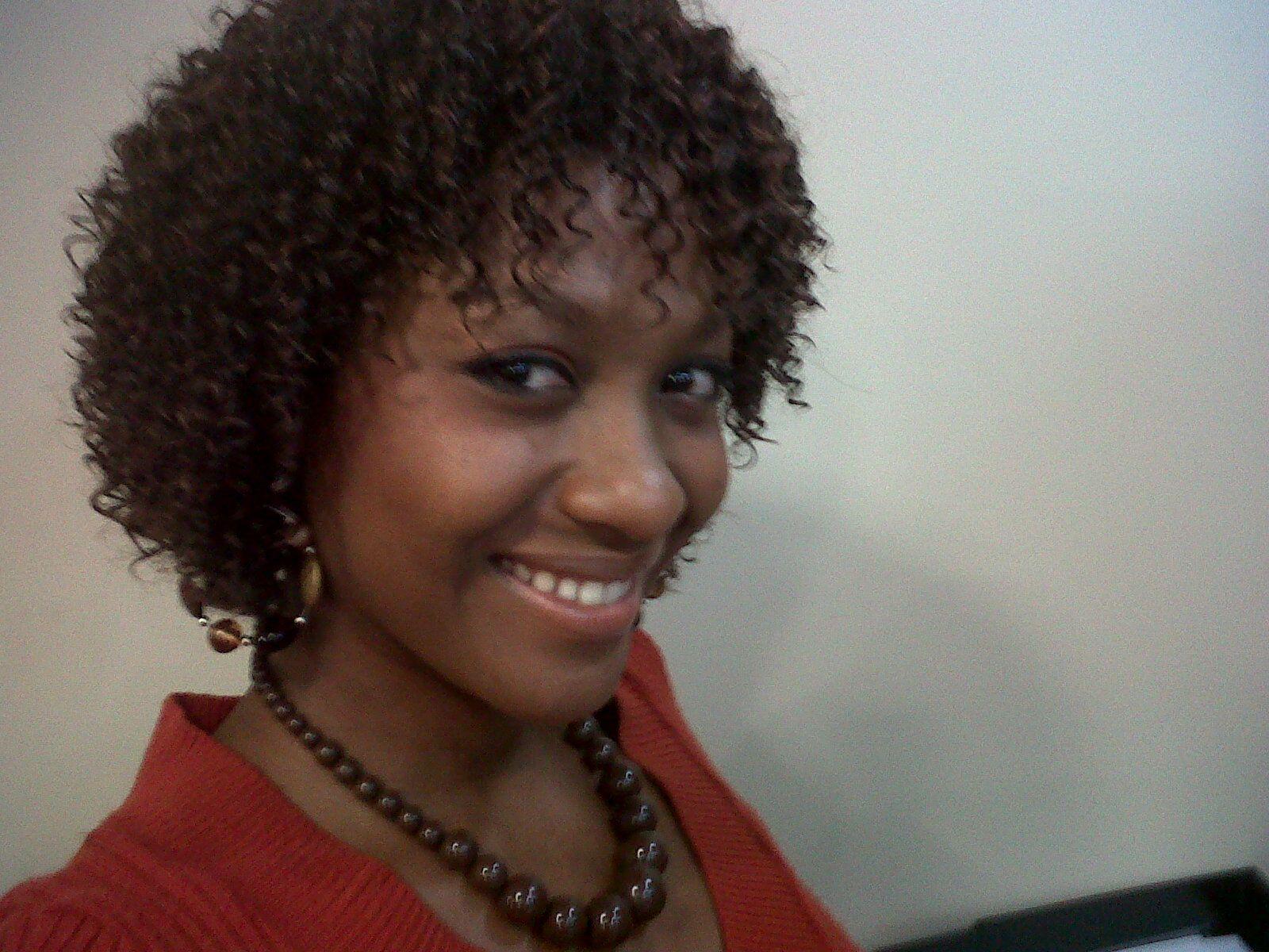 jheri curl sew in weave curly