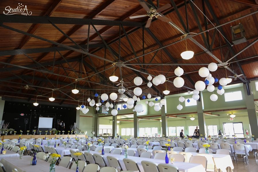 Detroit Lakes Pavillion Wedding Reception