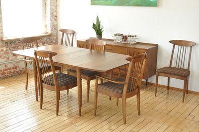 Details About Vtg 6 Pc Stoneville Furniture Mcm Chrome