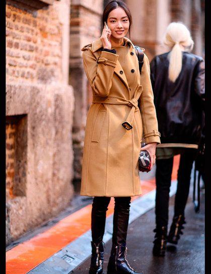 Models Off Duty: Milan Fashion Week AW14 Street Style | ELLE UK