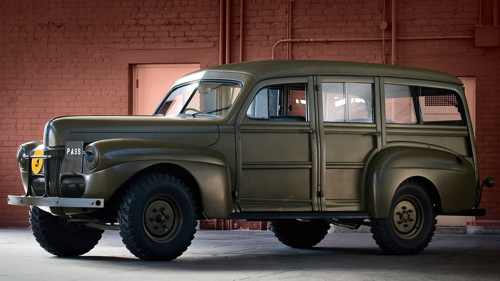 FleetMasters - 1941 Ford Fordor Staff Car | vehicules military | Pinterest | Ford Jeep dodge and Cars & FleetMasters - 1941 Ford Fordor Staff Car | vehicules military ... markmcfarlin.com