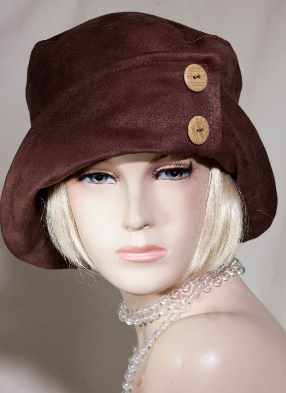 dad5e89c704 1920s VIintage Inspired Cloche Hat Great Gatsby by aileens4hats ...