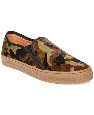 7ae1fb096d5 Don't blend in, stand out! Camo slip-on sneakers from Corso Como ...