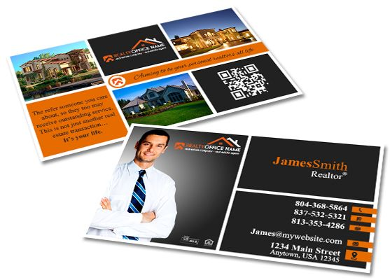 Real estate business cards template real estate business card creative real estate business card template modern business cards realtor business cards real flashek Gallery