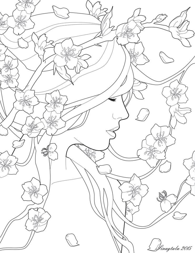 colour - Girly Pictures To Colour In