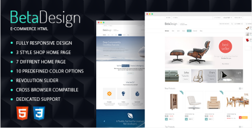 ShareFull.Net – ThemeForest – Beta Design E-Commerce HTML Template.   Introducing to you a brand new Beta Design E-Commerce HTML. This template designed specially for web-stores, however it is great for corporate sites, portfolios, blogs, magazines and so on.  Demo Beta Design...  ♡ ShareFull.Net ☼ Info & Download: http://goo.gl/1vqsOt »»»