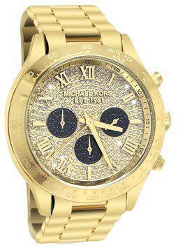 6046e67f6c1 Michael Kors Michael Kors MK5830 Layton Glitz Women s Chronograph Watch