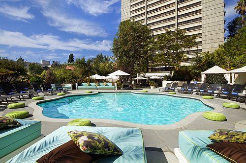 W los angeles westwood wet la hotels hotel pool los - Beverly hills public swimming pool ...