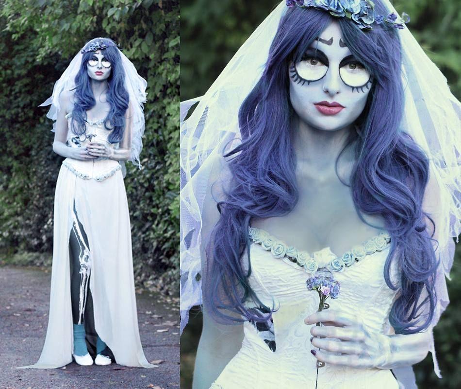 Corpse bride costume diy fashion 25
