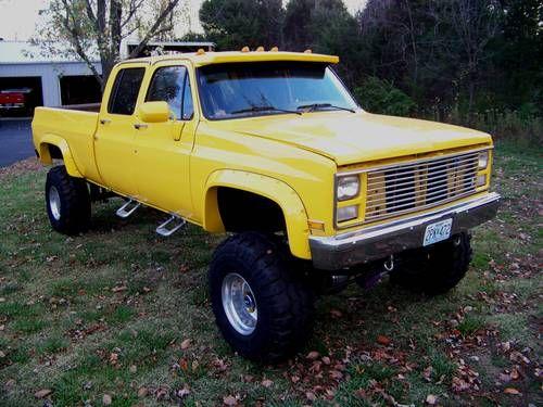 1988 Chevy 1 Ton 4 Door 4x4 Show Winning Truck