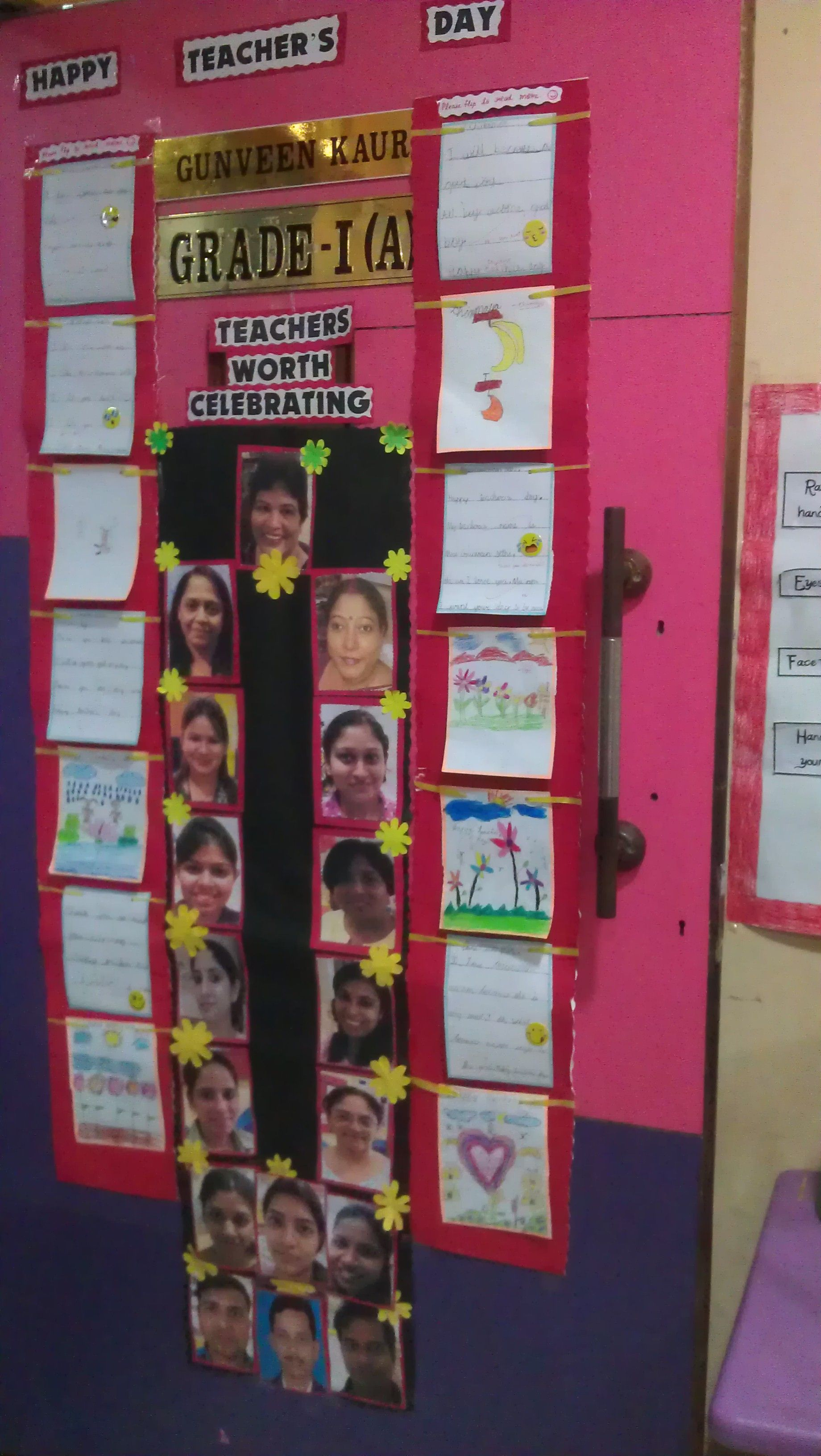 Celebrating Teacher S Day Door Decoration Class And Door