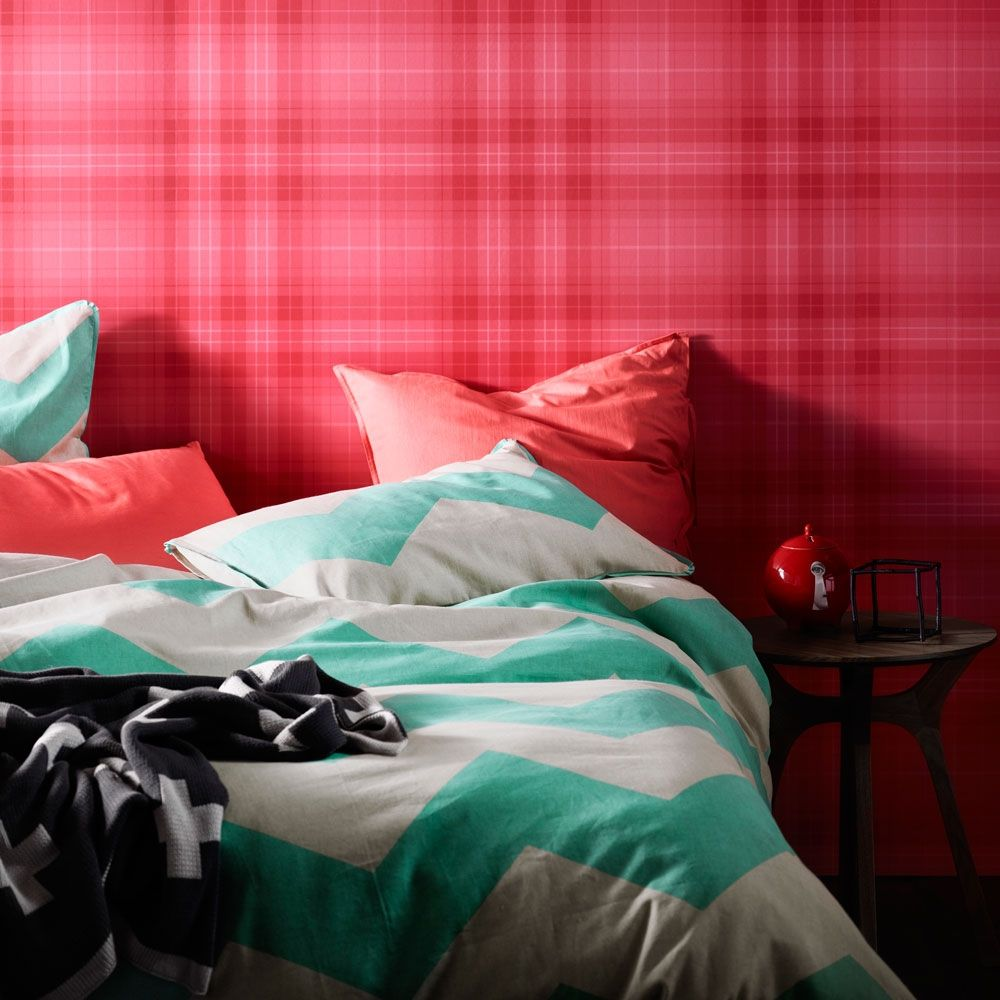 Chevron grande mint quilt cover - hardtofind. I want it!