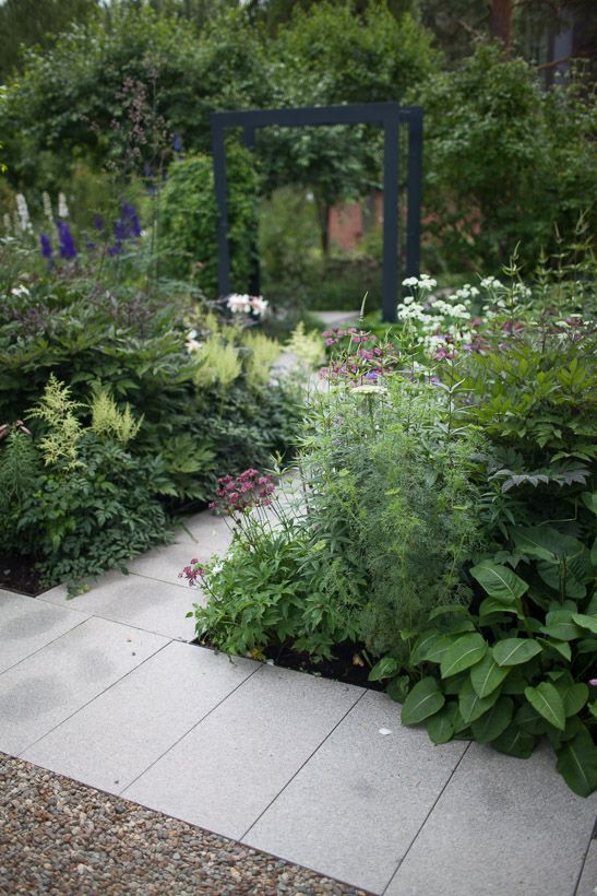 Garden designed by Nordfjell Landscape Architecture