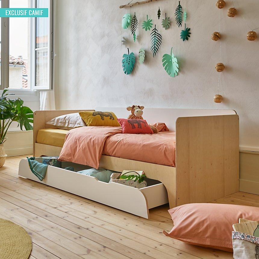 Lit Banquette Noe Camif Edition Avec Images Mobilier De Salon Meuble Chambre Decoration Maison