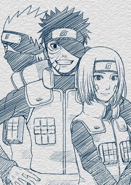 What Could Have Been Kakashi Obito And Rin From Naruto Com
