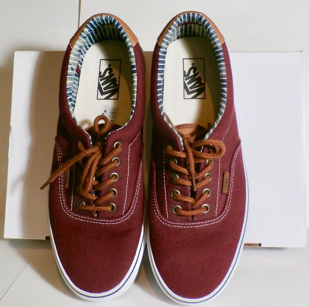 bf7fa96ffd VANS BURGUNDY COLORED OFF THE WALL MEN S U.S. SIZE 10 SNEAKERS SKATEBOARD  SHOES  fashion  clothing  shoes  accessories  mensshoes  casualshoes (ebay  link)