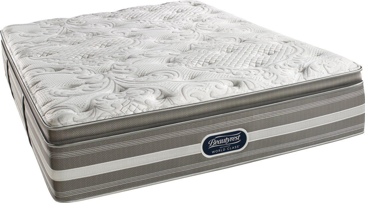 Beautyrest recharge world class coral firm pillow top