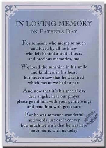 Truly missed today and always