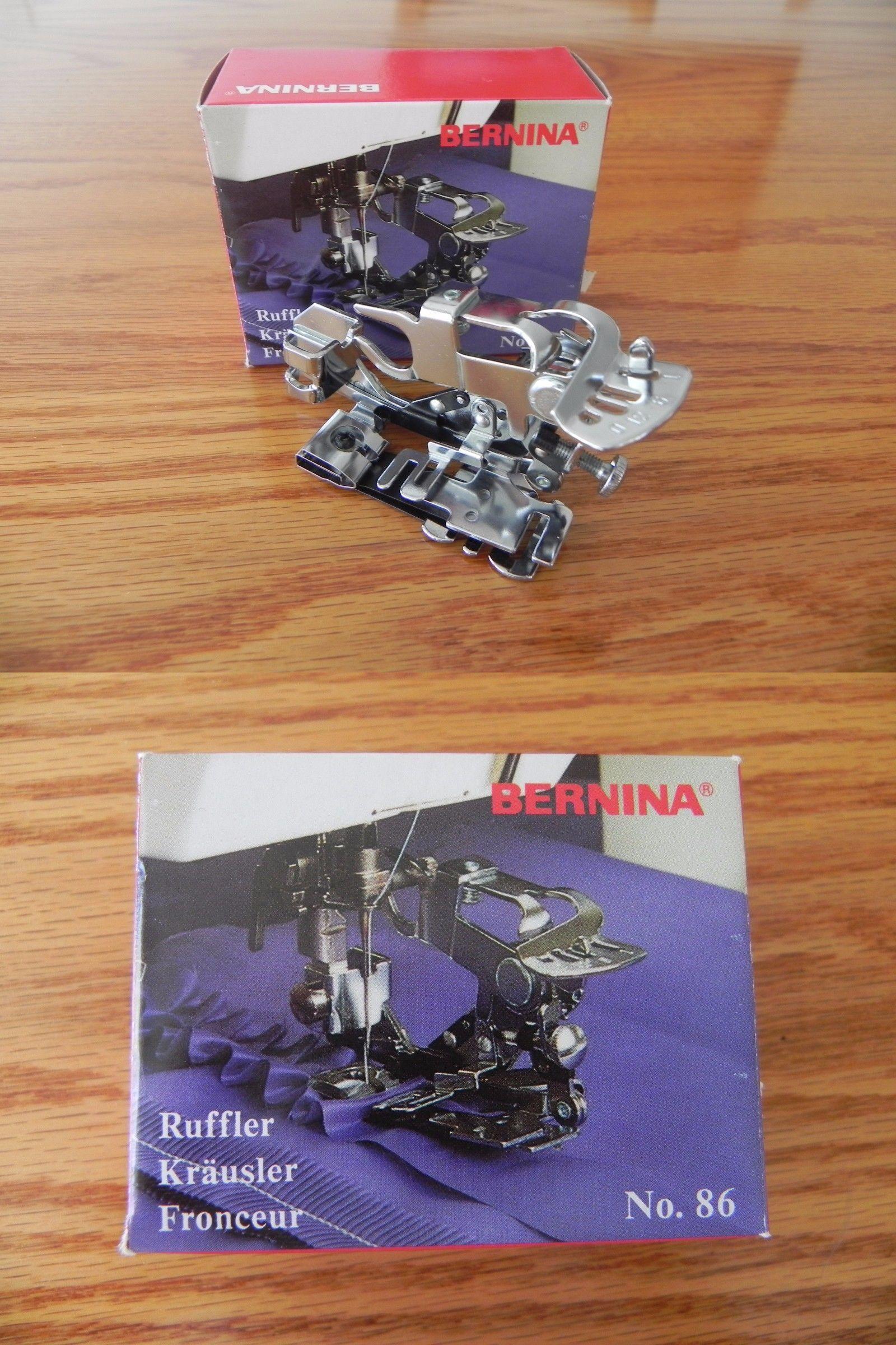 Feet 41245: Bernina Ruffler Foot No. 86 Nib 008386.73.0 -> BUY IT N ...
