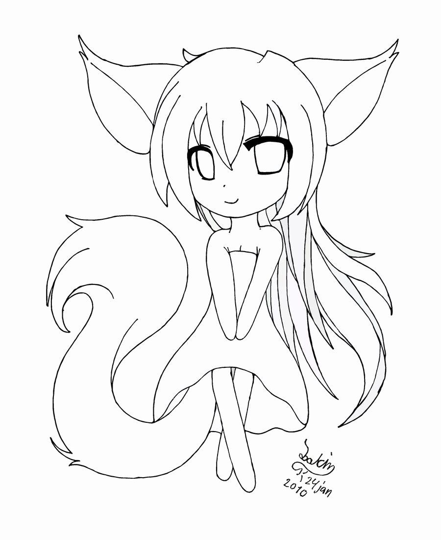 The Pet Girl Of Sakurasou Anime Coloring Pages Printable Unique Anime Chibi Girl Drawing Cartoon Gir Fox Coloring Page Cat Coloring Page Cartoon Coloring Pages