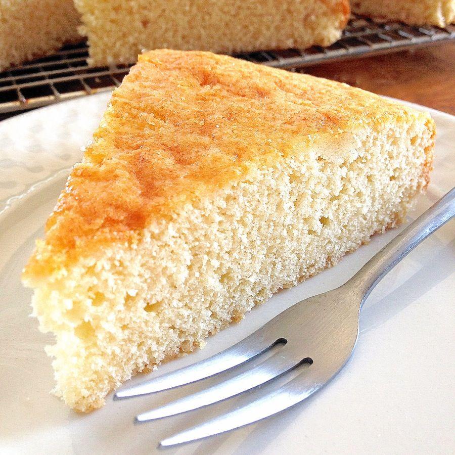 Plain Simple Golden Cake Golden cake King arthur and Cake