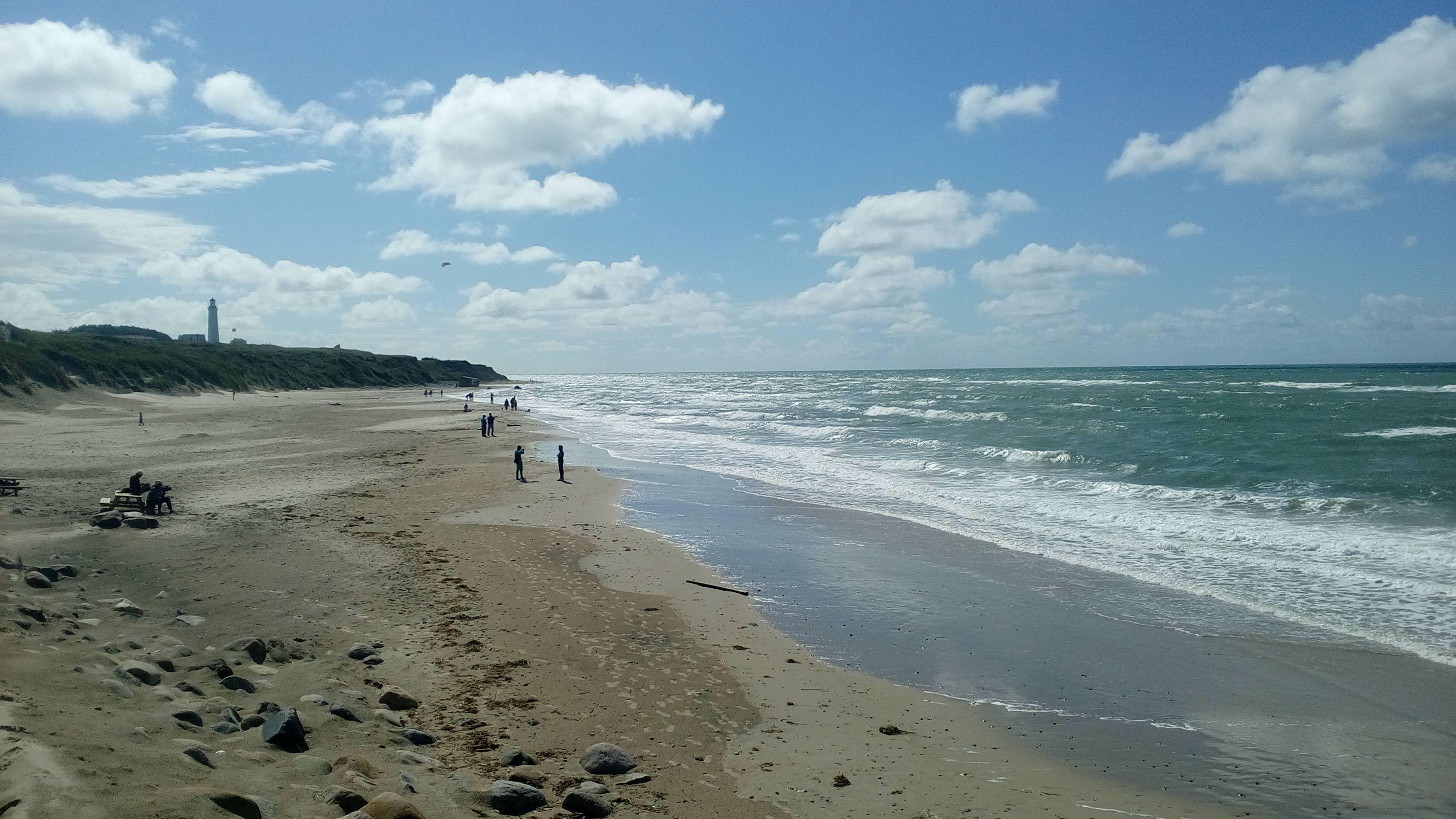 Hirtshals beach