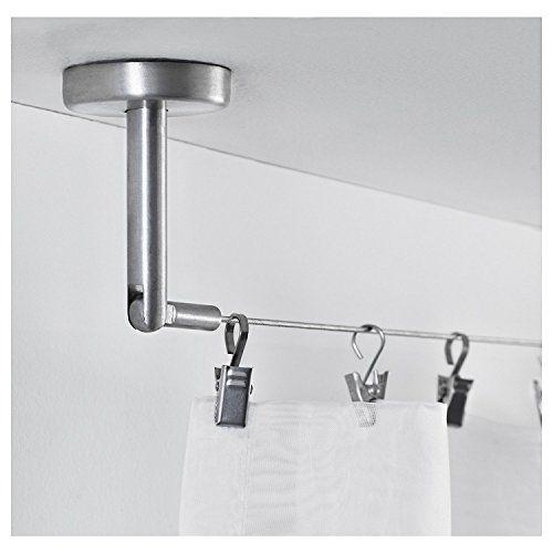 Ikea Riktig Stainless Steel Curtain Hook With Clip 24 Co Https Www Amazon Com Dp