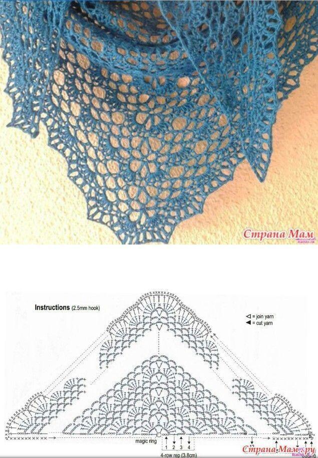 Photo of Schal Poncho Idee Ponchocrochet #crochetshawldiagram #handcrochet #knittedsh …